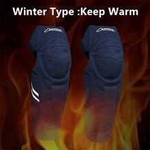 Winter Reflective Motorcycle Knee Protector Motocross Knee Guards MX Racing Knee Pads Leg Protective Gear Keep warm Skiing Shate