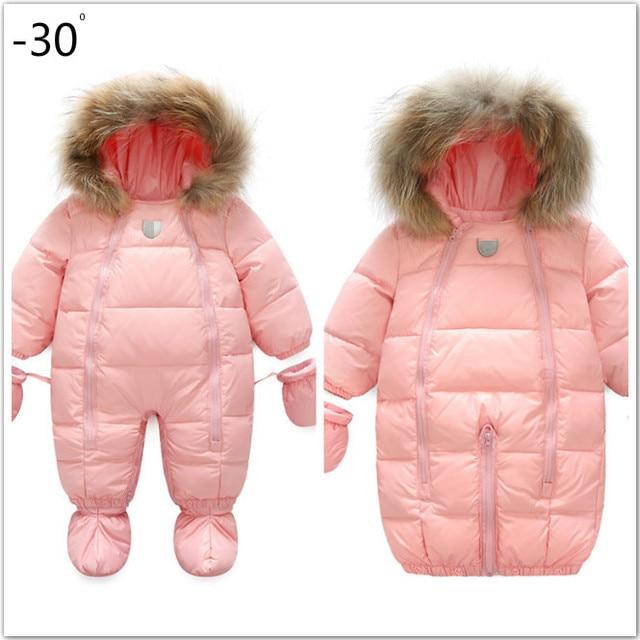 Baby thickening sleeping bag climbing suit