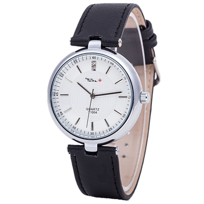 TADA Brand Luxury High Quality 3ATM Waterproof Japan Quartz Movement Watches Relojs Lady Fashion Genuine Leather Watches