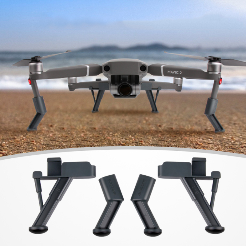 DJI Mavic 2 Pro Zoom Extensions Heightened Landing Gear Skid Legs Protector Drone Accessories for DJI Mavic Pro 2