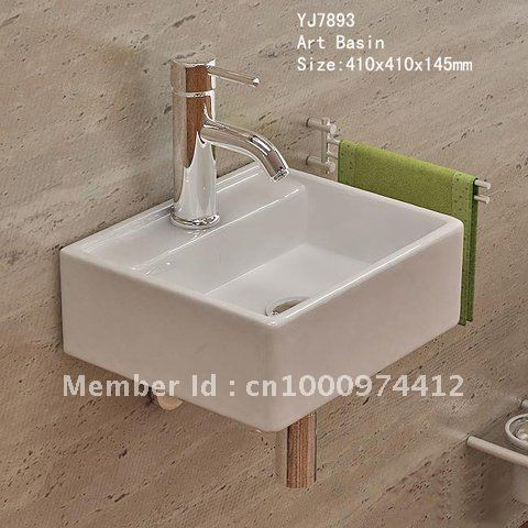 Awesome ... 7893 Bathroom Ceramic Mini And Save Spaces Wash Hand Sink Basin  Lavatory Lavabo