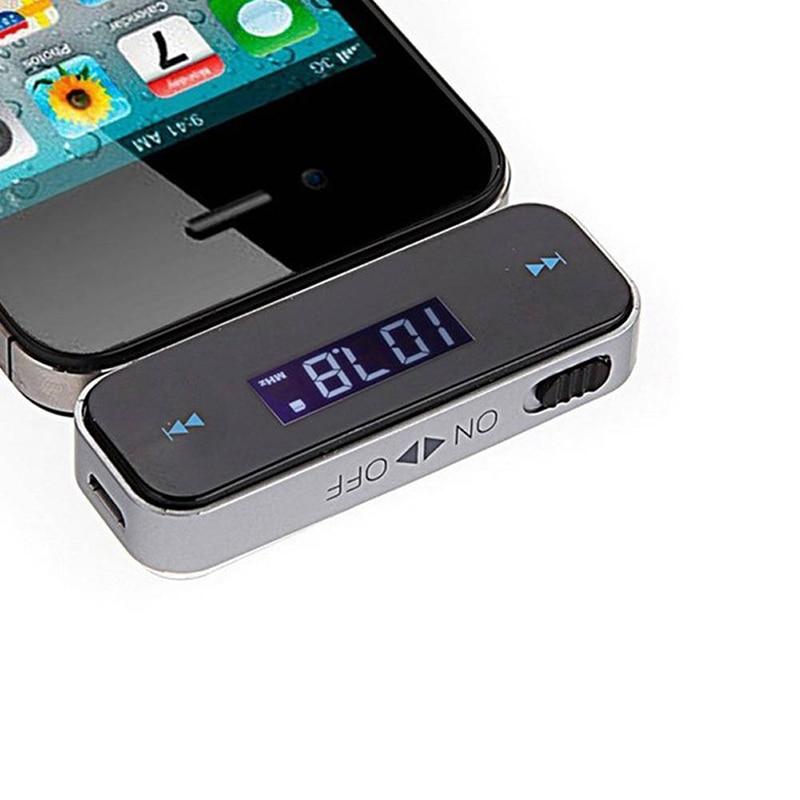 3.5mm In-Car Music Audio MP3 Player Bluetooth Car Kit Car Fm Transmitter Mini Wireless FM Transmitter for Smartphone Display