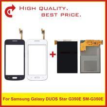"""4.3 """"터치 스크린 디지타이저 센서가있는 삼성 galaxy duos star 2 plus SM G350E g350e lcd 디스플레이 용"""