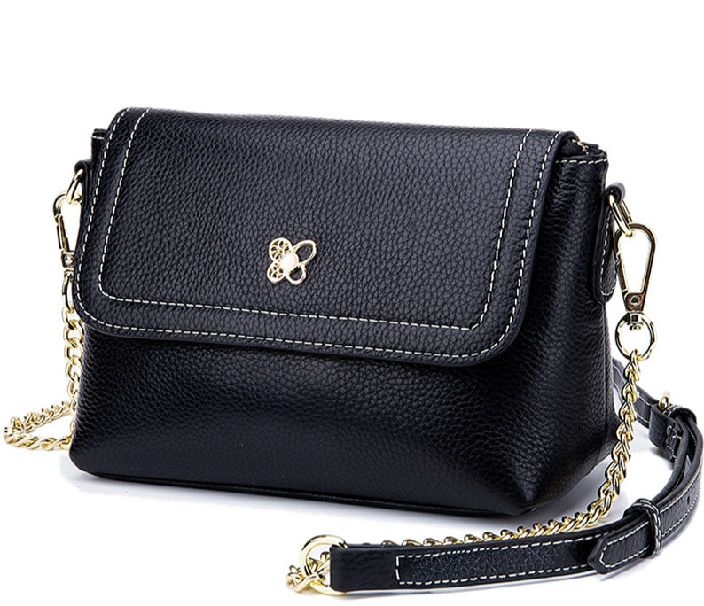 Purses and Handbags  Women Leather Handbags Crossbody Bags for Women 2018 Genuine Leather Chains Fashion Flap Women Bag 2019Purses and Handbags  Women Leather Handbags Crossbody Bags for Women 2018 Genuine Leather Chains Fashion Flap Women Bag 2019