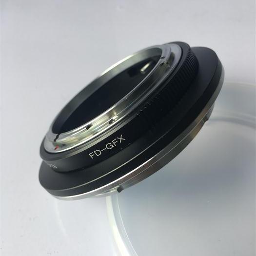 FD-GFX Adapter For Canon FD Mount Lens to Fujifilm GFX 50S Medium Format Camera