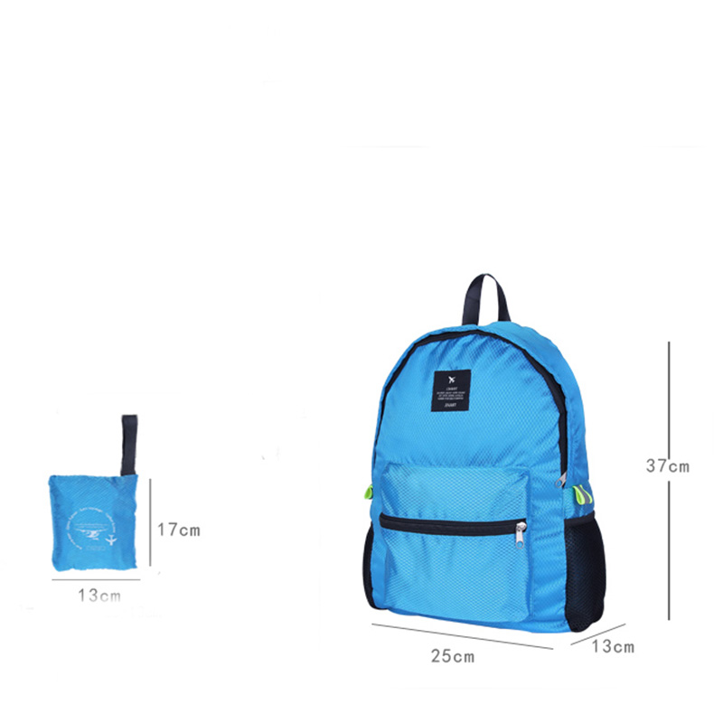 Iux Foldable Travel Bags Waterproof Women Men Unisex Leisure Bagsrucksack Travel Backpacks Men And Women Bag School Backpacks #4
