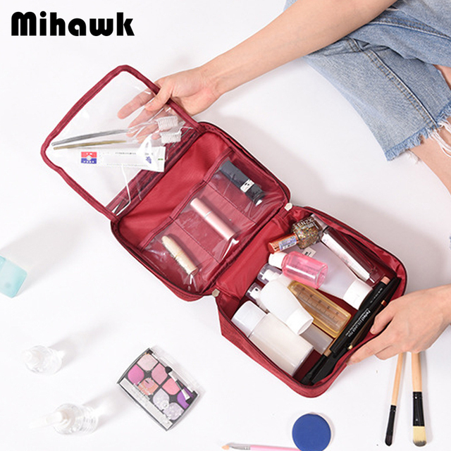 Mihawk Large Capacity Cosmetic Women Bag 1