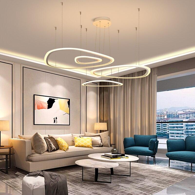 New Minimalist White led ceiling lights for living room bedroom plafondlamp light modern lamp