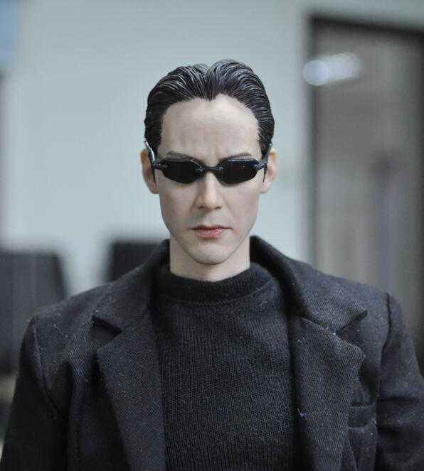 1/6 KMF034 Custom The Matrix Keanu Reeves Action Figure Collection Doll Toys Gift 1