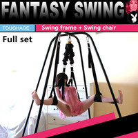 toughage Sexual balance love swing elasticity frame+weightless sex swing chairs,adult sex furnitures toys for couples