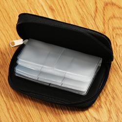 Карта памяти сумка, чехол для переноски держатель кошелек 22 слота для CF/SD/Micro SD/SDHC/MS/DS игры аксессуары коробка для карт памяти