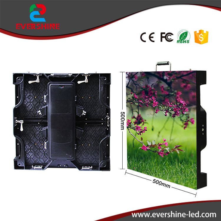 Die-casting aluminum cabinet rgb full color rental led display screen P3.91 hd led panel usage for outdoor p5 outdoor waterproof hd led display screen p5 rgb led display panel 3in1 smd2525 full color led board