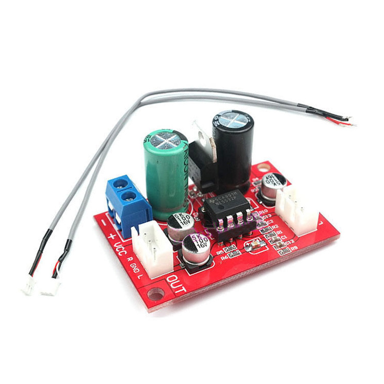 scls ne5532 dynamic microphone stereo preamp amplifier board signal shielding wire in. Black Bedroom Furniture Sets. Home Design Ideas