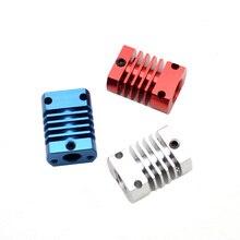 3D yazıcı parte Ekstruder MK10 CR8 V6 soğutucu alüminyum isı emici radyatör