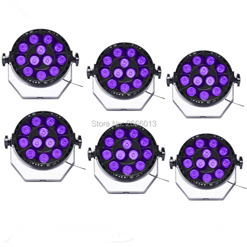 6pcs/lot LED Par LED Stage Light Effect Disco DJ Bar Effect UP Lighting Show DMX512 Strobe for Party KTV purple PAR LED lights lightme professional stage dj dmx stage light 192 channels dmx512 controller console dj light for disco ktv home party night