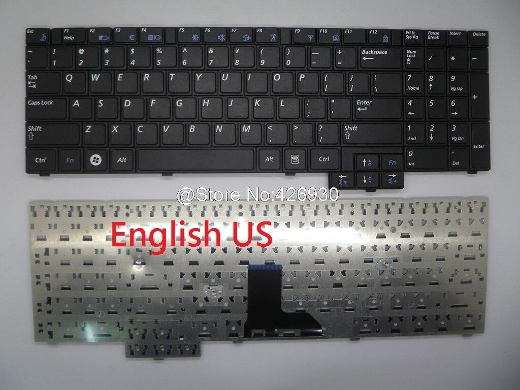 Laptop Keybaord for Samsung R517 R528 R523 R525 R530 R538 R540 R719 RV508 RV510 P530 P580 E352 E452 English US
