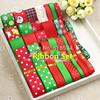 Christmas Series Mixed Ribbons 27YDS Printed Grosgrain Ribbon Lace Ribbon Set Party Decoration Kids Hairbow Accessories