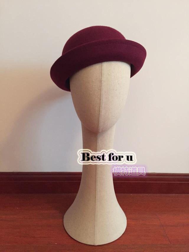 Livraison gratuite!! Mannequin de tête en tissu blanc femme Mannequin tête Mannequin modèle perruque lunettes chapeau affichage