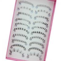 10 Pairs/set Different Styles Lower Under Bottom Fake Eye Lashes Extension False Eyelashes Tools High Quality False Eyelashes