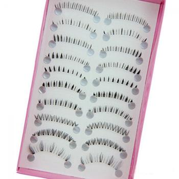 10 Pairs/set Different Styles Lower Under Bottom Fake Eye Lashes Extension False Eyelashes Tools High Quality