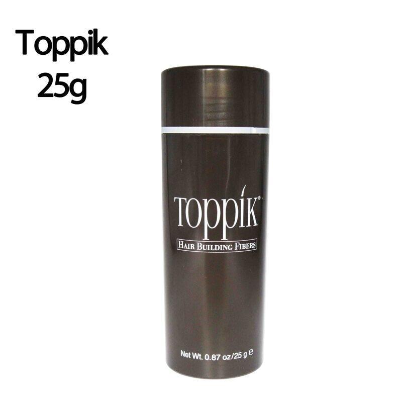 TOPPIK 25g Keratin Haargebäudefasern 10 Farben Haarausfall Behandlung Pflege Verbergen Ausdünnung Haarfaser Wimpernverlängerung Beauty