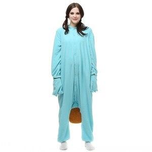 Image 3 - Unisex Perry Thú Mỏ Vịt Trang Phục Onesies Quái Vật Cosplay Đồ Ngủ Dành Cho Người Lớn Pyjamas Động Vật Ngủ Jumpsuit