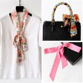 New Chiffon Scarf All-match Ribbon Colorful Fashion Shawls Scarves Hot Sale Kerchief