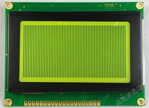 COB 12864 Yellow Green Backlight LCD Screen KS0108 Controller LED backlight