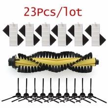 1 * szczotka + 6 * filtr HEPA + 6 * gąbka + 10 * szczotka boczna do części do robota odkurzającego ILIFE polaris chuwi ilife A4 A4s T4 X432 X430 X431