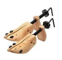 2Pcs Cedar Shoe Trees For Men Wooden Shoe Stretcher,Adjustable Unisex Shaper Large Size for Men and Women, Wood Shaper