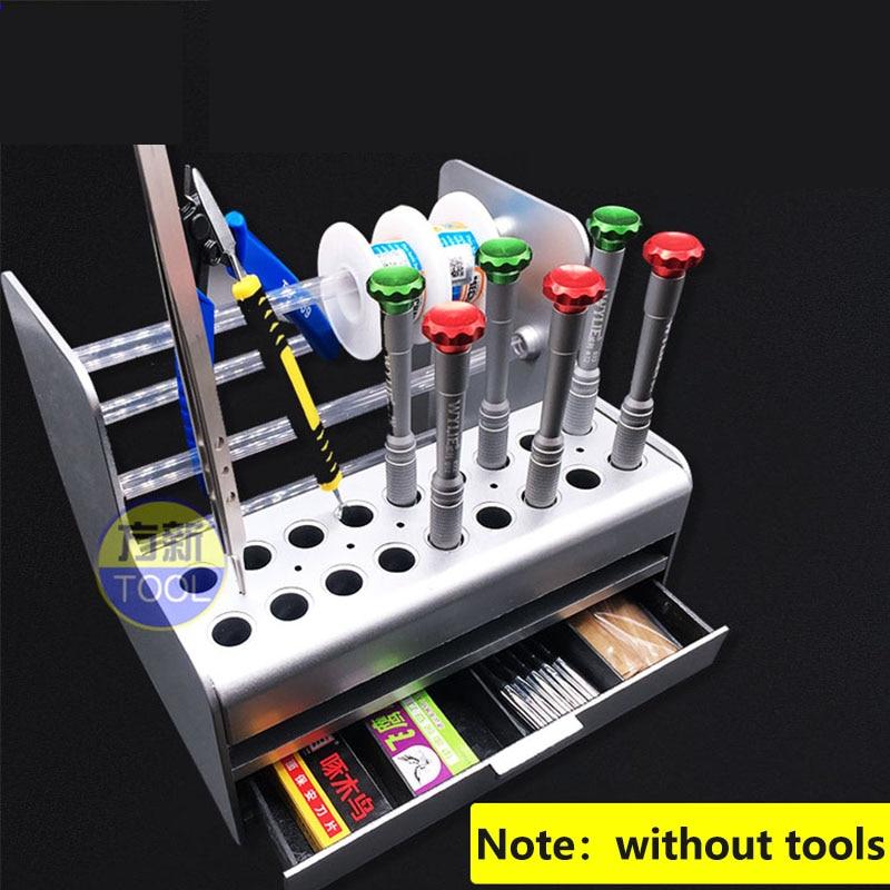 Werkzeug Organisatoren Werkzeuge FäHig Mainframe Teile Lagerung Box Schraubendreher Pinzette Werkzeug Box Wartung Zubehör Rack Für Handy Reparatur Lagerung Box Weich Und Leicht