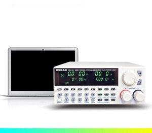 Image 4 - KORAD KEL103 Professional electrical programming Digital Control DC Load Electronic Loads Battery Tester Load 300W 120V 30A