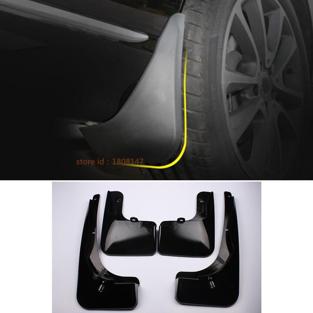 Car Wheel Trims Body Cover ABS Fender Soft Mudguard