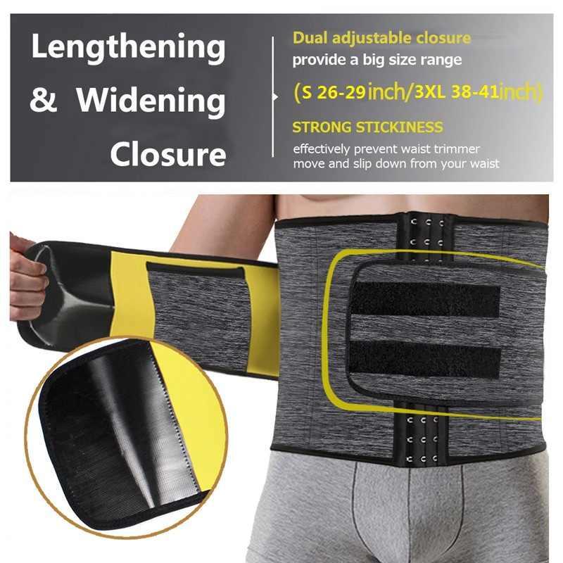 SEXYWG для похудения, пояс для поддержки поясничной части спины тренер Для мужчин спортивные топы неопрена сауна утягивающая одежда утяжка ремень Cincher гимнастический, спортивный, для йоги, топы