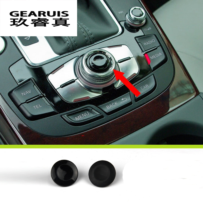 Car styling Multimedia MMI Volume Knob Rotary Button Switch Setting For A6 S6 c5 c6 c7 A4 b5 b6 b7 b8 S4 Q5 A8 Q7 Accessories