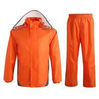 Reflective Raincoat Rain Pants Waterproof Single Raincoat Men And Women For Riding Working