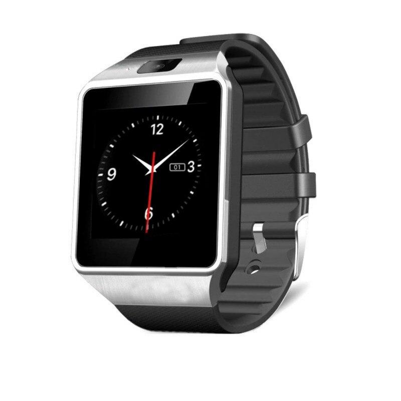 imágenes para DZ09 Reloj Inteligente Con Cámara Bluetooth Reloj Smartwatch Apoyo TF Tarjeta SIM Para Ios Android Móviles