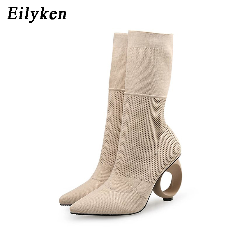 blinking socking heels