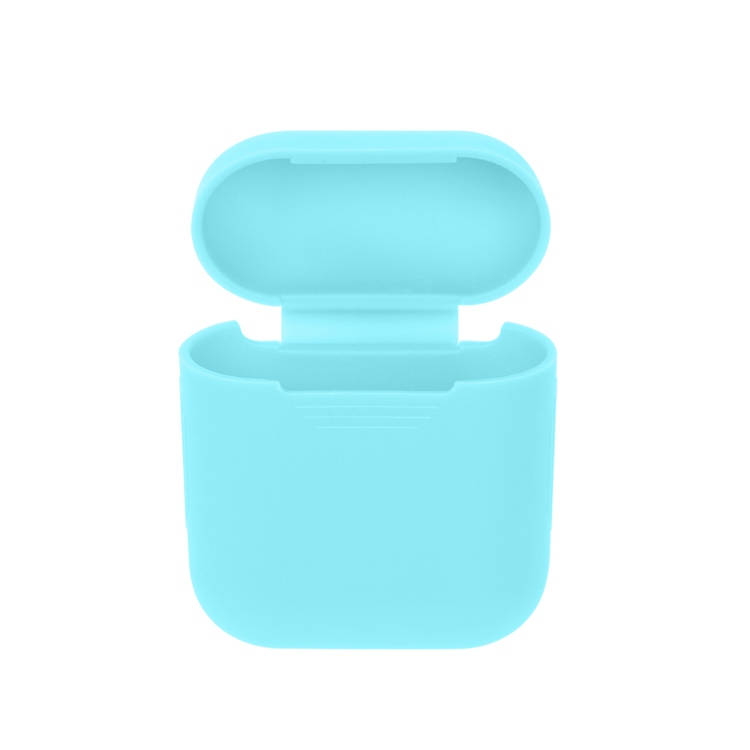 XBERSTAR For Apple AirPods Silicone Case Shock Proof Protector Sleeve Skin Cover for AirPods True Wireless Earphone Cases Cover