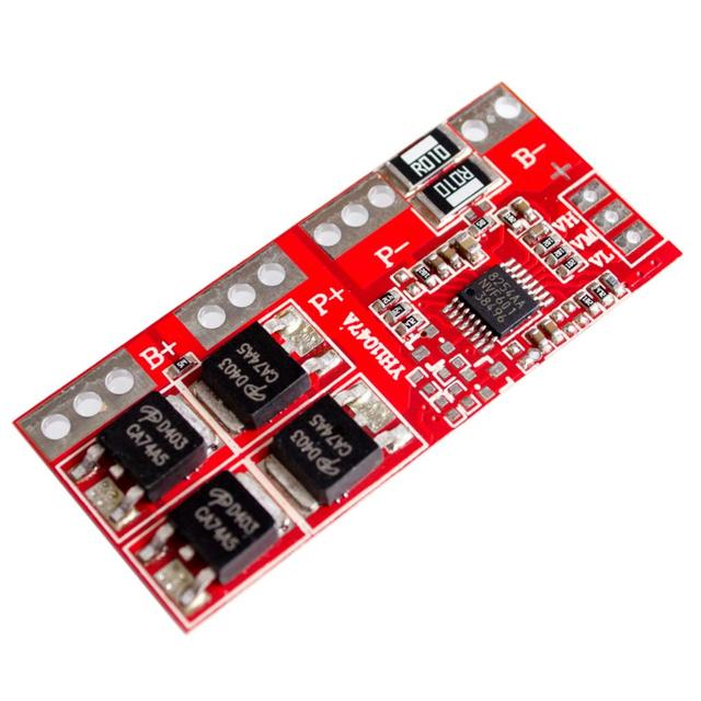 1PCS 4S 30A High Current Li-ion Lithium Battery 18650 Charger Protection Board 14.4V 14.8V 16.8V Overcharge