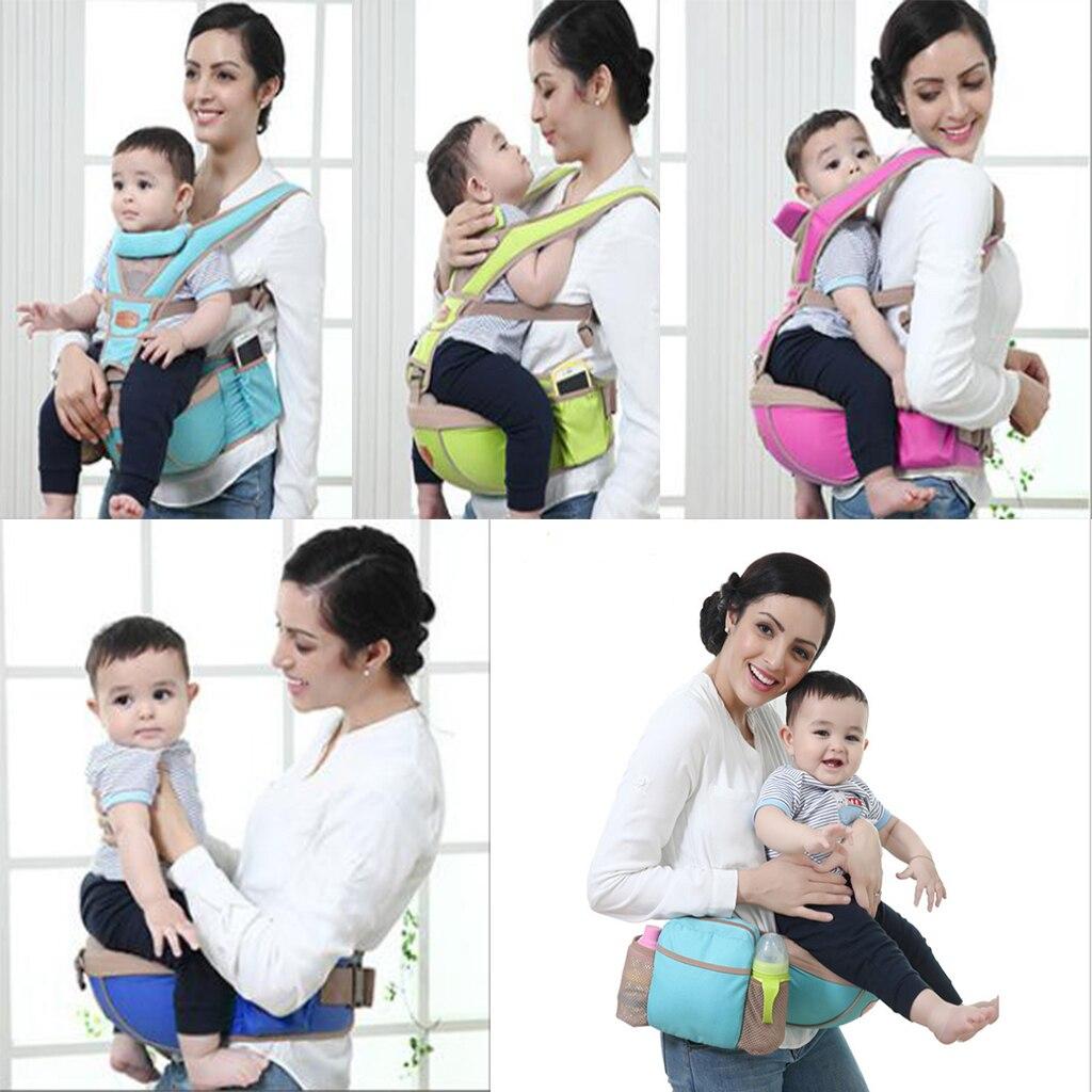 Adjustable Infant Baby Carrier Newborn Backpack Sling Breathable 3D Mesh Polyester 20KG 0-3years Old