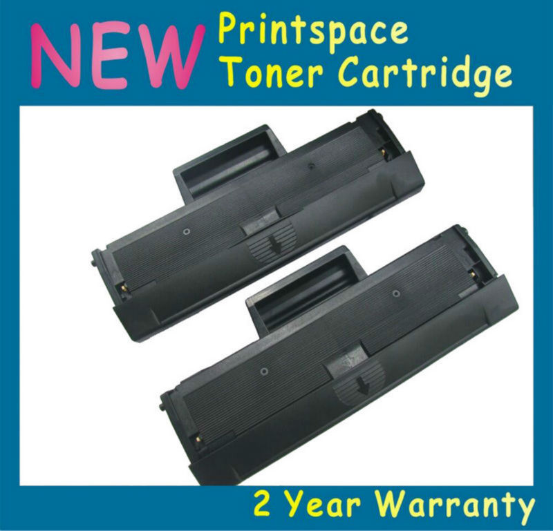 2x NON-OEM Cartuccia Toner Nero Compatibile Per Samsung MLT-D111S 111 s Samsung Xpress M2020W M2021 M2022W M2070FW