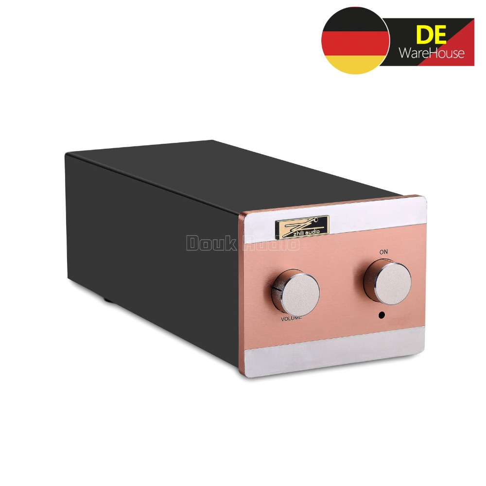 цена Nobsound EAR834 MM (Moving Magnet) RIAA JJ 12AX7 Tube Phono Stage Turntable Preamp HiFi Stereo Preamplifier
