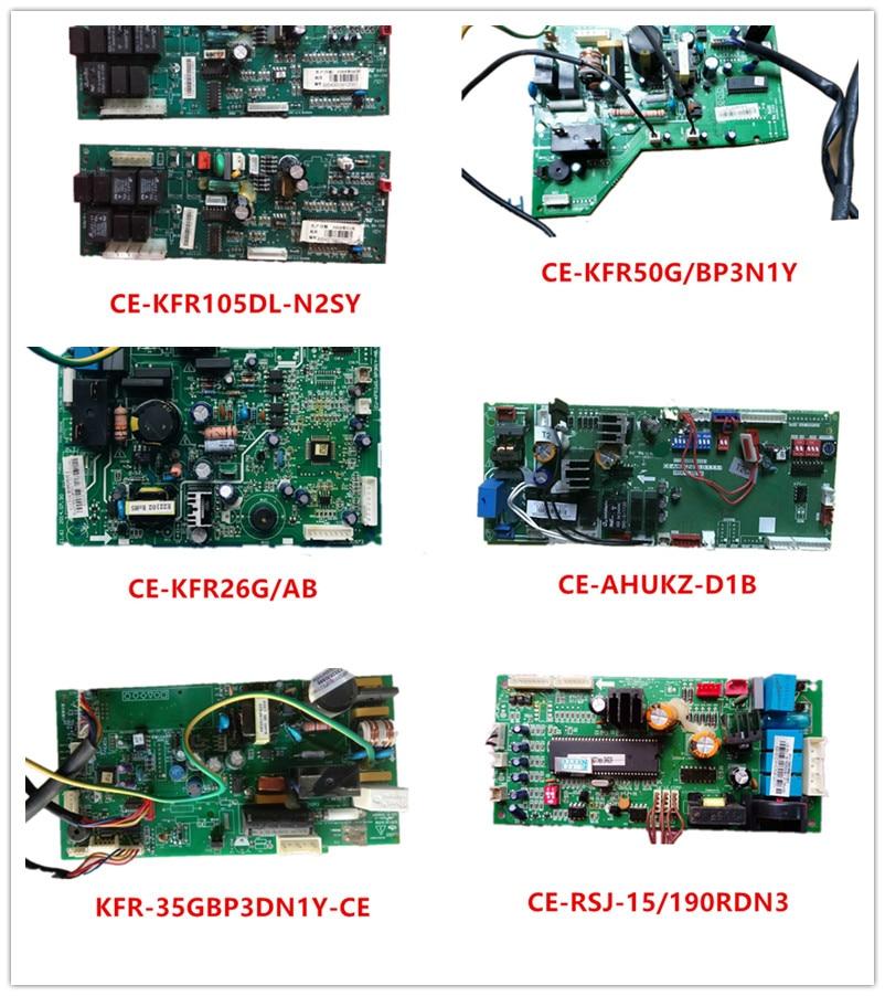 CE-KFR105DL-N2SY| CE-KFR50G/BP3N1Y| CE-KFR26G/AB| CE-AHUKZ-03B.D.1| KFR-35GBP3DN1Y-CE| CE-RSJ-15/190RDN3 Used Good Working