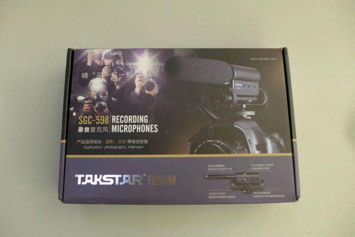 Takstar SGC-598 Photographie Interview Conférence Conférence MIC - Audio et vidéo portable - Photo 2