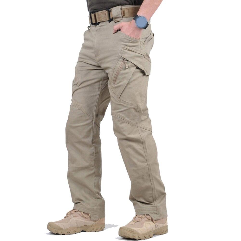 Cerca Voli Cargo Pantaloni Da Uomo Di Sport All'aria Aperta Pantaloni Militari Di Campeggio Pantaloni Da Trekking Militare Tattico Pantaloni Da Combattimento Multi Tasche Pantaloni