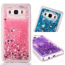 FQYANG Perfume Patterned Dynamic Liquid Quicksand Transparent Phone Case For Samsung S9 8 PLUS S7 6 5 J3 5 7 A3 5 7 2016 2017 C9