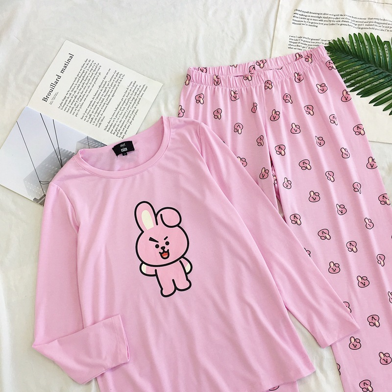 c8506f2deb Pajama Sets Cheap Pajama Sets BT21 BTS Kawaii Cartoon Cotton Pajama.We  offer the best wholesale price