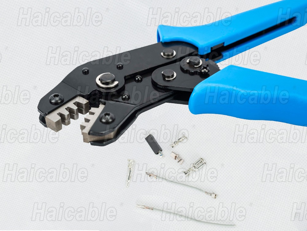 Haicable SN 28B Pin Crimper 2.54mm 3.96mm 28 18awg D sub Crimping ...