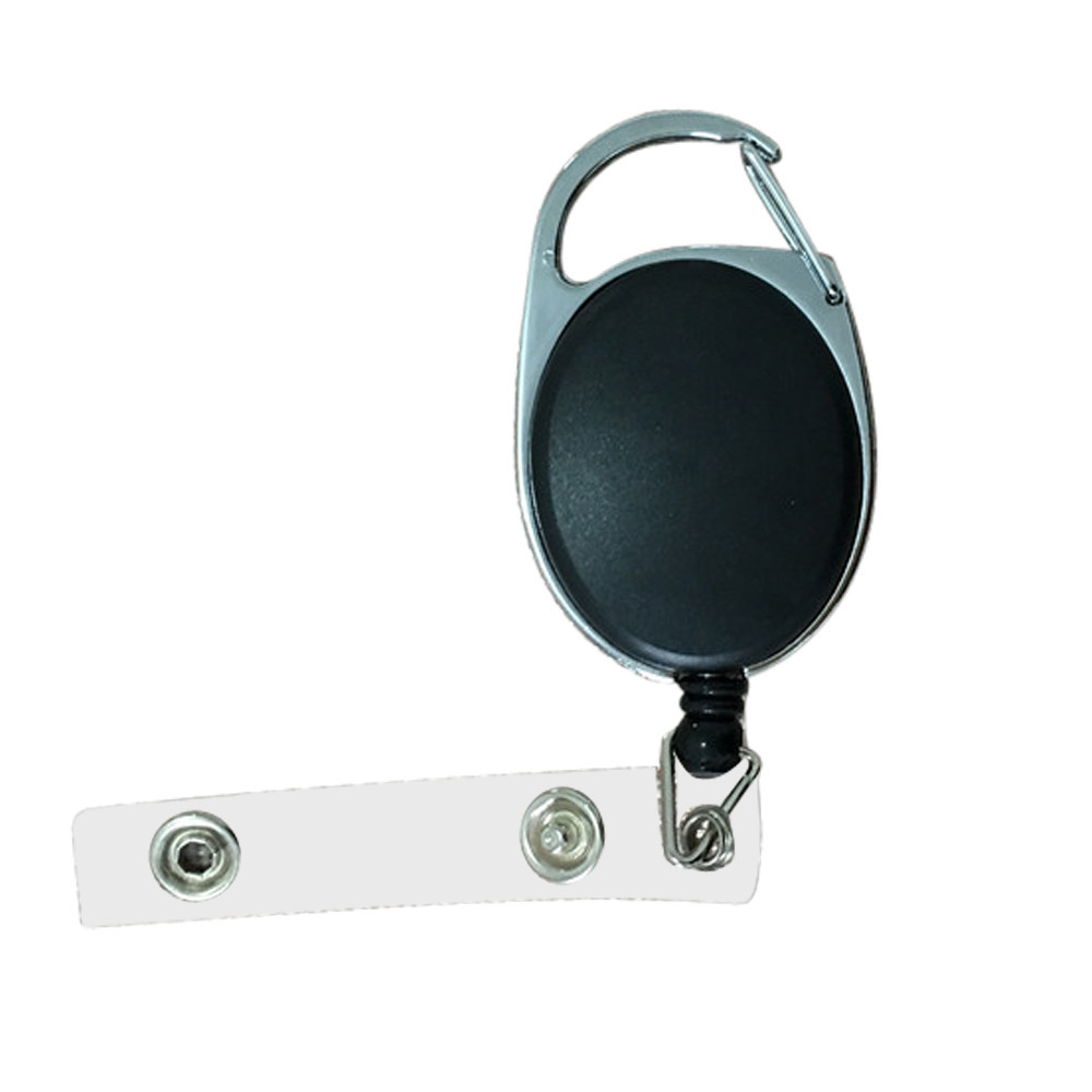 New Retractable Reel ID Badge Lanyard Name Tag Key Card Holder <font><b>Belt</b></font> <font><b>Clip</b></font> <font><b>Cell</b></font> <font><b>Phone</b></font> Chain ID Holder With Plastic Covers